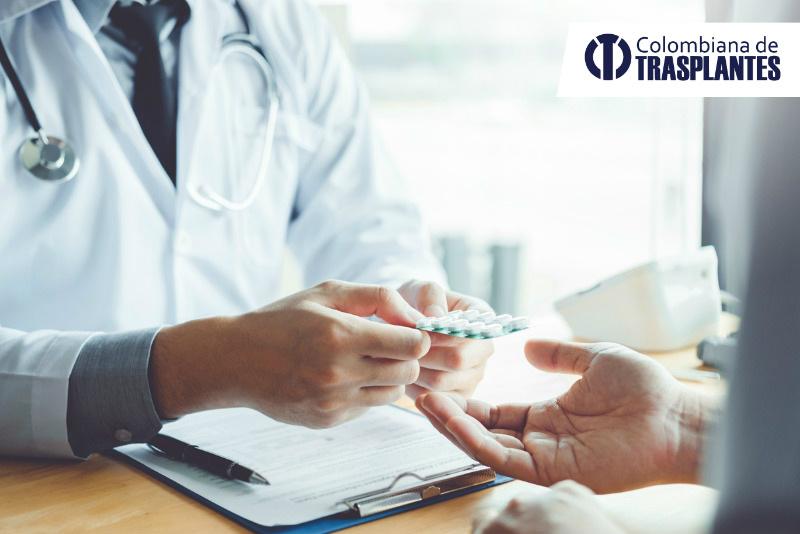 Cuidados para pacientes que toman inmunosupresores