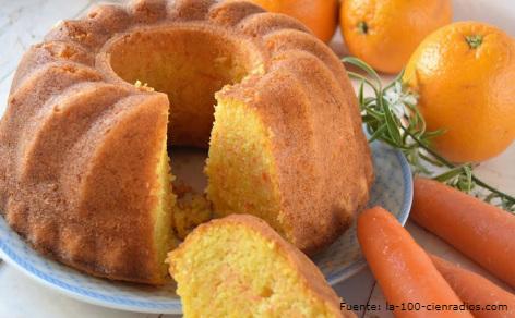 Torta de zanahoria.