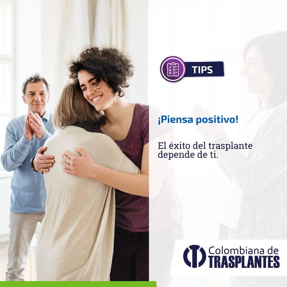 piensa positivo: factor de éxito en tu proceso de trasplante de órganos