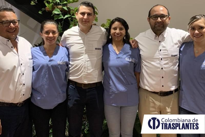 Equipo colombiana de trasplantes
